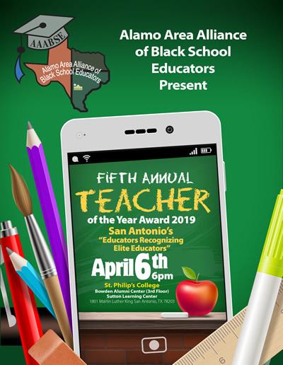 2019 Alamo Area Teacher of the Year sm