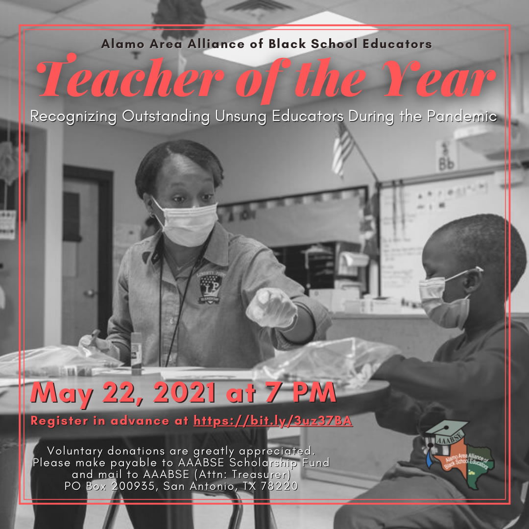 Alamo ABSE Teacher of The Year 2021 Awards